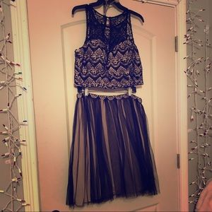 I am selling my 2 piece 2019 homecoming dress!